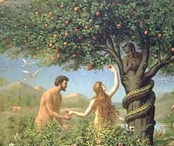 Eve in garden