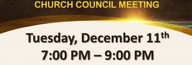 Chruch council meeting